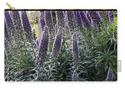 Echium And Tower Carry-all Pouch