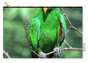 Eclectus Parrot-1 Carry-all Pouch