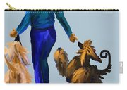 Eddie Dancing With Dogs Carry-all Pouch
