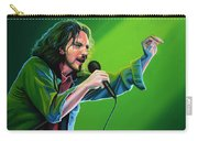 Eddie Vedder Of Pearl Jam Carry-all Pouch