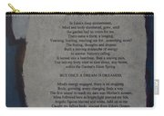 Eden's Womb Poem Collage Carry-all Pouch
