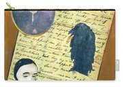 Edgar Allen Poe Carry-all Pouch