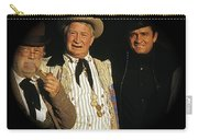 Edgar Buchanan Chills Wills  Johnny Cash Porch Old Tucson Arizona 1971-2008 Carry-all Pouch