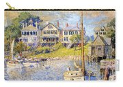 Edgartown  Martha's Vineyard Carry-all Pouch by Colin Campbell Cooper