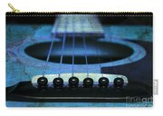 Edgy Abstract Eclectic Guitar 17 Carry-all Pouch