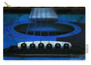 Edgy Abstract Eclectic Guitar 18 Carry-all Pouch by Andee Design