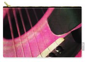 Edgy Pink Guitar  Carry-all Pouch