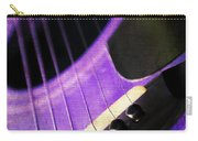 Edgy Purple Guitar  Carry-all Pouch