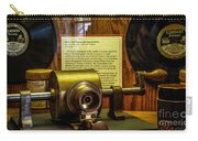 Edison Foil Phonograph Carry-all Pouch