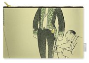 Edmond Rostand (1868-1918) Carry-all Pouch