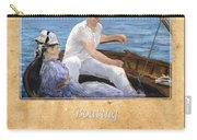 Edouard Manet 4 Carry-all Pouch