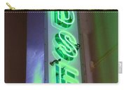 Edsel Sign Aglow Carry-all Pouch
