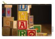 Edward - Alphabet Blocks Carry-all Pouch