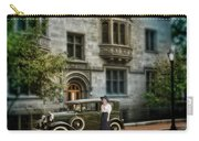 Edwardian Lady By Car Carry-all Pouch