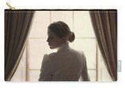 Edwardian Woman At The Window Carry-all Pouch