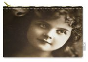 Edwardian Young Girl Carry-all Pouch