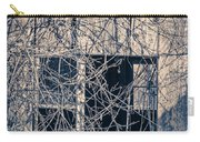 Eerie Old Shack Carry-all Pouch by Edward Fielding