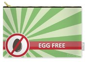 Egg Free Banner Carry-all Pouch