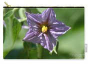 Egg Plant Blossom Carry-all Pouch