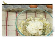 Egg Salad Ingredients Carry-all Pouch