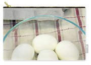 Eggs Boiled And Raw Carry-all Pouch