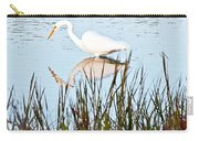 Egret And Coot In Autumn Carry-all Pouch