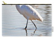 Egret Has Dinner Carry-all Pouch