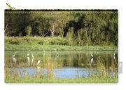 Egret Heaven Carry-all Pouch