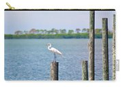 Egret In Dunedin Florida Carry-all Pouch