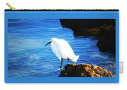 An Egret In St. Augustine Carry-all Pouch