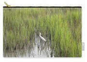 Egret In The Marsh Carry-all Pouch