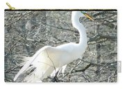 Egret Lake Martin Louisiana Rookery Carry-all Pouch