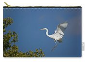 Egret Landing Carry-all Pouch