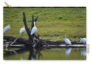 Egret Meeting Carry-all Pouch