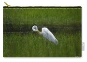 Egret Preen Carry-all Pouch