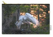 Egrets At Nest Carry-all Pouch