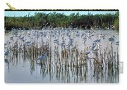 149838-egrets Feeding, Everglades Nat Park  Carry-all Pouch