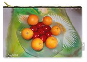 Egss Fruits And Flowers Carry-all Pouch