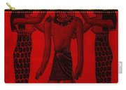 Pharaoh Atem Red Carry-all Pouch