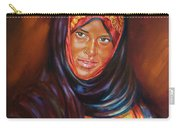 Egyptian Nubian Girl Carry-all Pouch