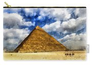 Egyptian Pyramid Carry-all Pouch