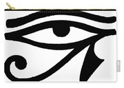 Egyptian Symbol Wedjat Carry-all Pouch