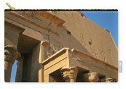 Egyptian Temple Architectural Detail Carry-all Pouch