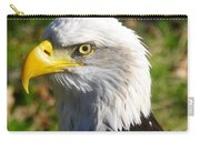 Bald Eagle Head Shot One Carry-all Pouch