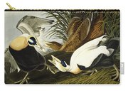 Eider Ducks Carry-all Pouch