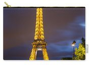 Eiffel Dusk Carry-all Pouch