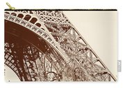 Eiffel In Sepia Carry-all Pouch