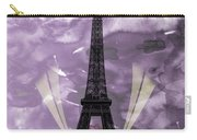 Eiffel Tower - Paris - Love Carry-all Pouch