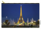 Eiffel Tower By Night  Carry-all Pouch