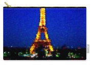 Eiffel Tower Expressive Carry-all Pouch
